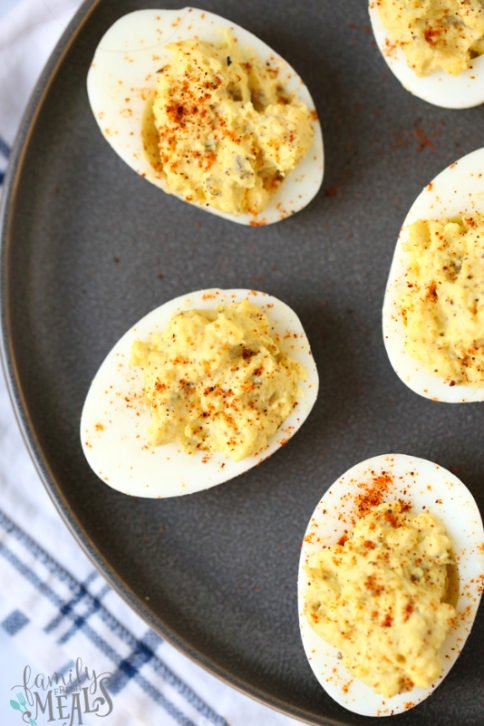 Blue Ribbon Deviled Eggs Recipe - Family Fresh Meals