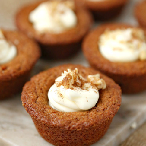 Carrot Cake Cookie Cups Recipe -- Family Fresh Meals