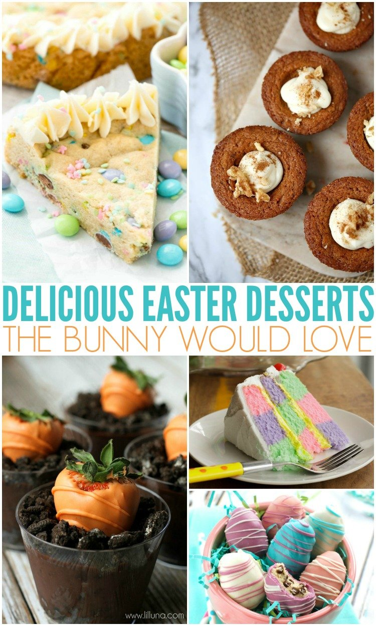 easy easter desserts for the family