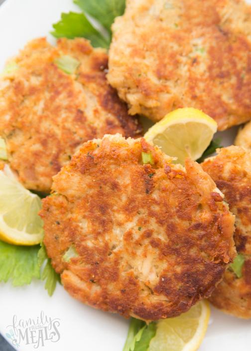Easy Tuna Patties Video Family Fresh Meals