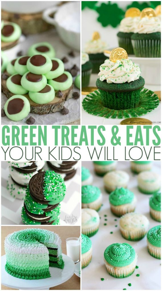 Green Treats For St. Patrick's Day - Family Fresh Meals