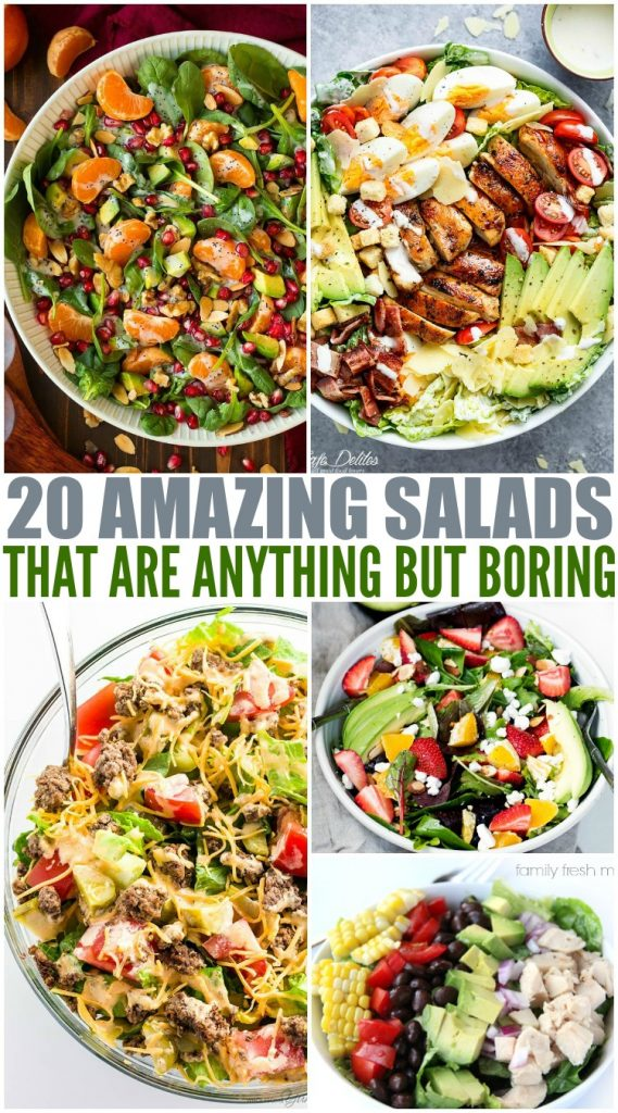 Amazing Salad Recipes Family Fresh Meals