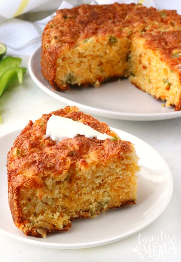 Cheesy Mexican Cornbread Recipe -- Family Fresh Meals Recipe