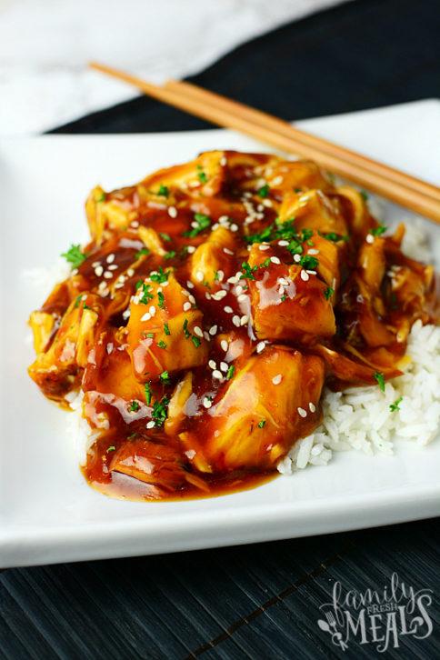 Instant Pot Honey Garlic Chicken - Family Fresh Meals Recipe