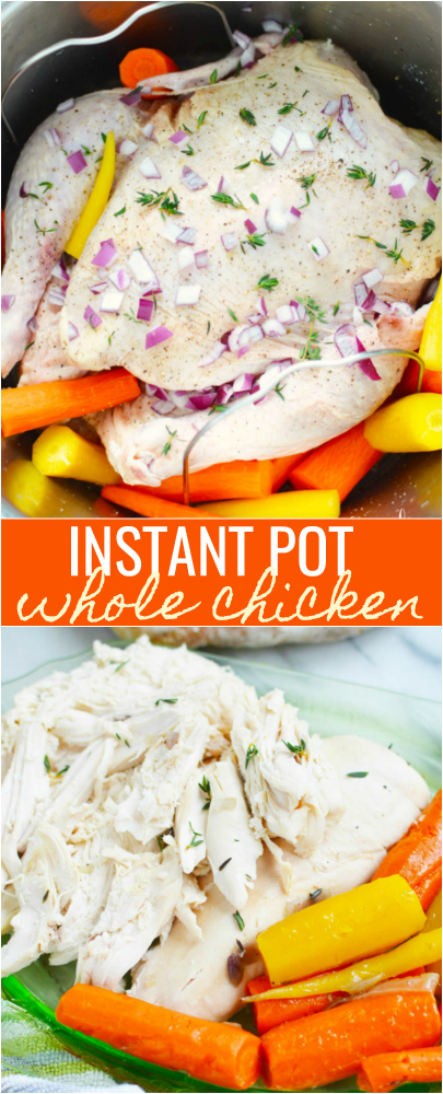 How to Make an Instant Pot Whole Chicken -- Family Fresh Meals