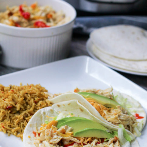 Instant Pot Chicken Fajitas Recipe - Family Fresh Meals