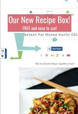 New Family Fresh Meals Recipe Box