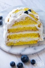 Easy Lemon Ice Cream Cake