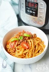 Instant Pot Spaghetti Dinner