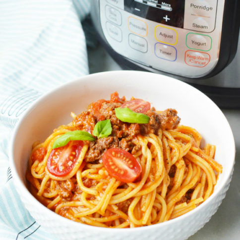 Instant Pot Spaghetti Dinner Recipe - Family Fresh Meals