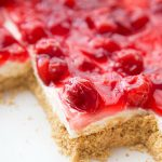 No Bake Cherry Cheesecake Dessert