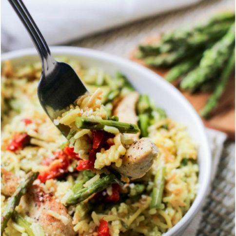 One Pot Italian Chicken Rice Recipe - Family Fresh Meals
