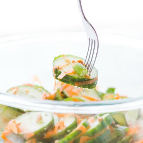 Thai Cucumber Salad -- Family Fresh Meals Recipe