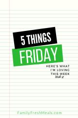 Five Things Friday Week 12