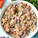 Creamy Thai Chicken Salad