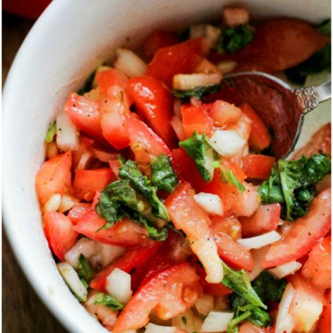 Easy Fresh Bruschetta Recipe -- Family Fresh Meals Recipe