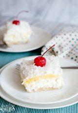 Pina Colada Lush Cake