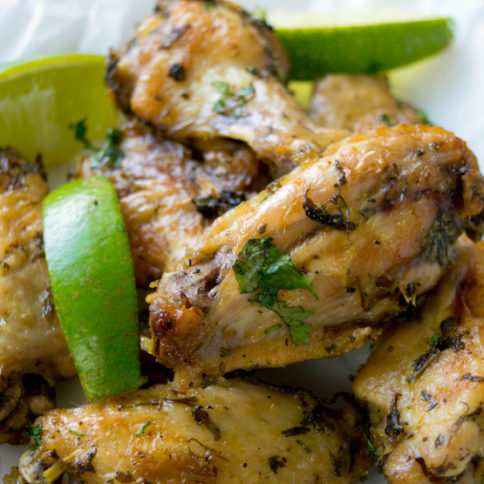 CilantroLimeChicken Wings - Family Fresh Meal Recipe