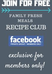 Family Fresh Meals Recipe Club