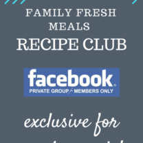 Family Fresh Meals Recipe Club