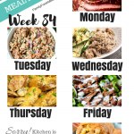 Easy Weekly Meal Plan Week 84