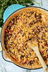 Cheesy Enchilada Orzo
