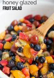 Honey Glazed Fruit Salad