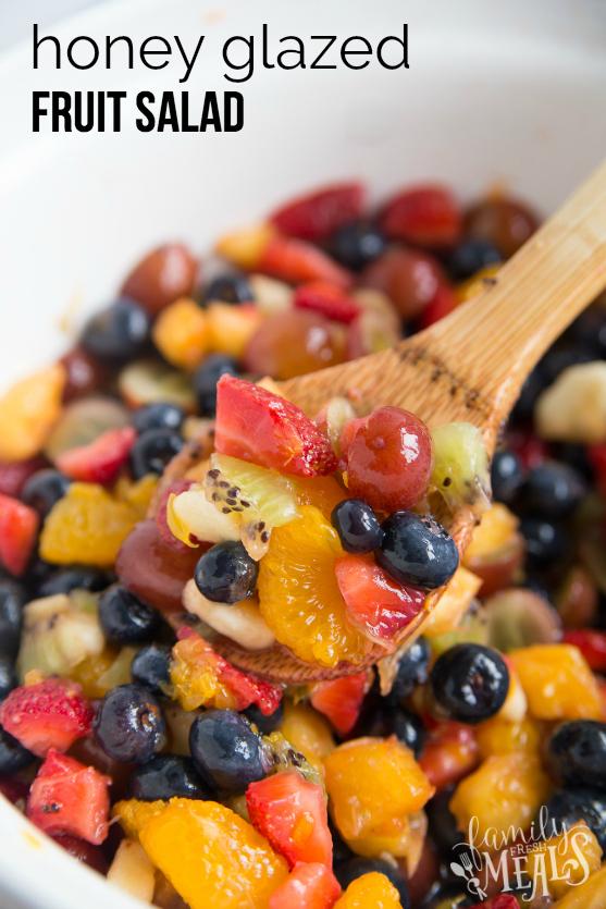 Honey Glazed Fruit Salad - Family Fresh Meals Recipe