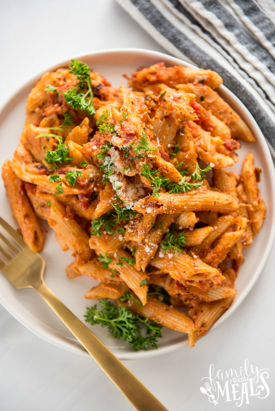 Instant Pot Three Cheese Ziti - Family Fresh Meals Recipe