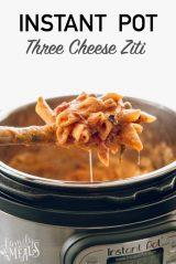 Instant Pot Three Cheese Ziti