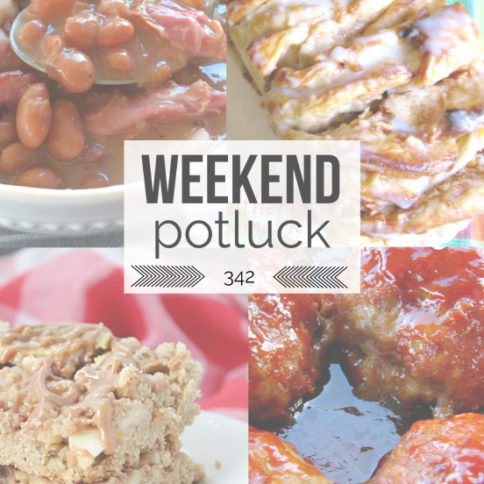 Apple Pull Apart Bread Weekend Potluck Recipe - Family Fresh Meals