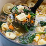 Italian Tortellini Soup Recipe - Family Fresh Meals