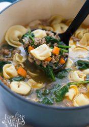 Italian Tortellini Soup Recipe - Family Fresh Meals