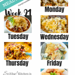 Easy Weekly Meal Plan Week 91