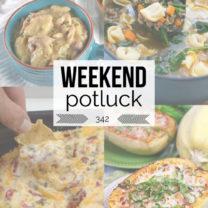 Weekend Potluck Instant Pot Chicken Dumplings