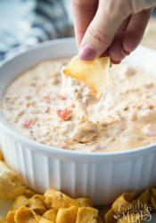 Cheesy Sausage Dip Recipe - Family Fresh Meals