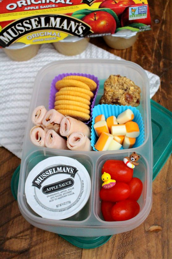 Healthy Lunchbox Ideas with Family Fresh Meals and Musselman's