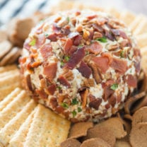 Savory Bacon Cheese Ball