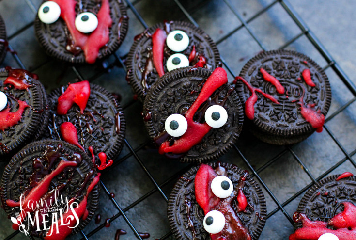 Spooky Halloween Oreos - Family Fresh Meals Recipe