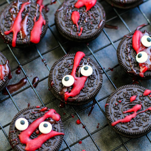 Spooky Halloween Oreos Recipe - Family Fresh Meals Recipe