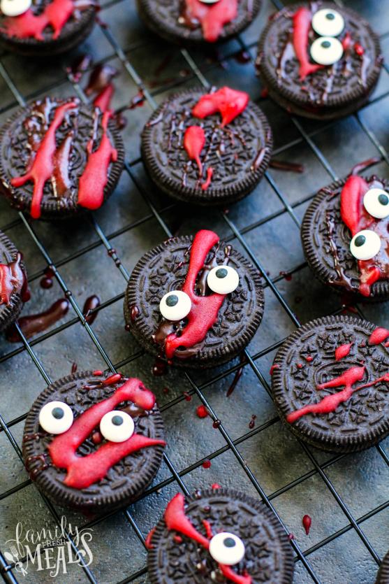 Spooky Halloween Oreos Recipe - Family Fresh Meals Recipe