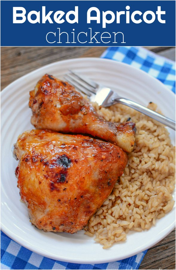 Baked Apricot Chicken - Family Fresh Meals Baked Chicken Thigh Recipe