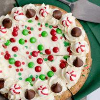 Holiday Sugar Cookie Cake