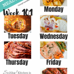 Easy Weekly Meal Plan Week 101