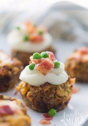 Mini Meatloaf Cupcakes Recipe