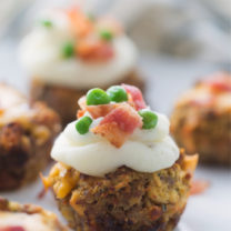 Mini Meatloaf Cupcakes Recipe