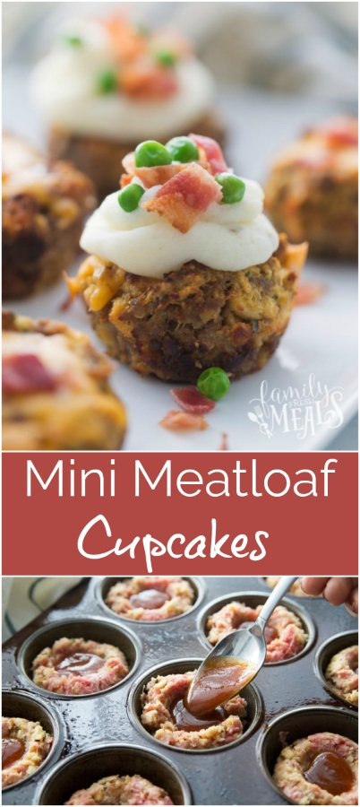 Mini Meatloaf Cupcakes - Family Fresh Meals Recipe