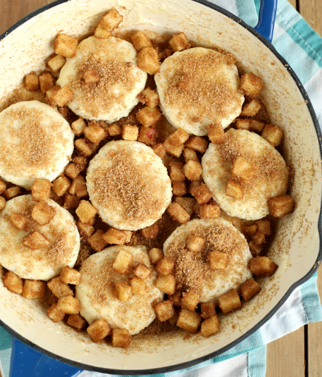 Skillet Apple Pie Dessert Biscuits Family Fresh Meals