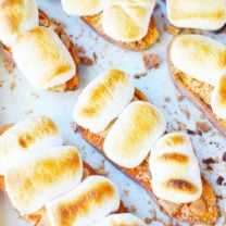 Sweet Potato Casserole Toast