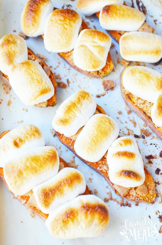Sweet Potato Casserole Toast Recipe -- Family Fresh Meals